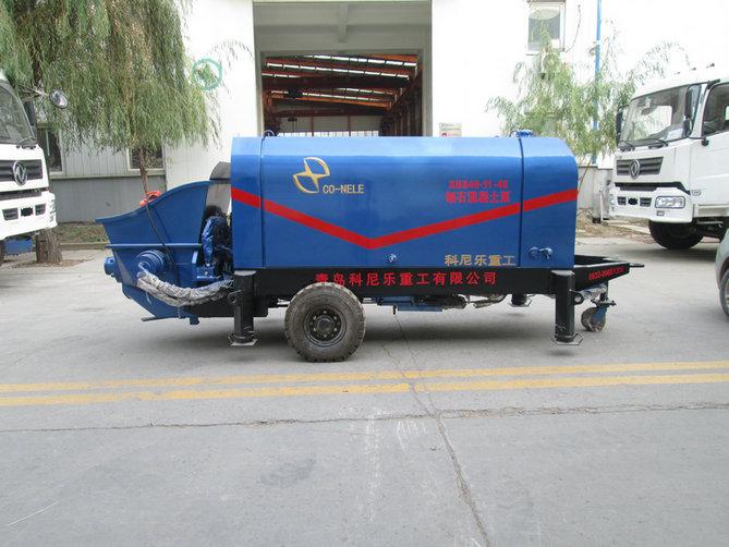 细石泵细石混凝土泵性价比高操作简单青科重工