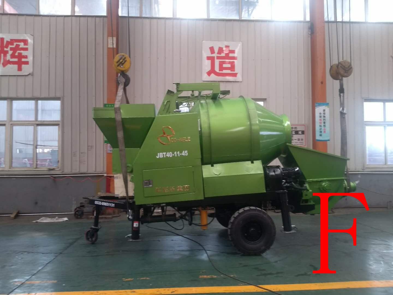 混凝土泵 搅拌拖泵 青科重工