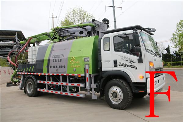 混凝土泵 青科重工 湿喷台车
