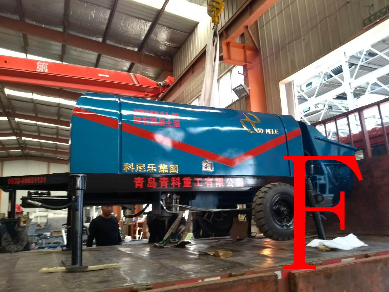 混凝土泵 细石泵 青科重工