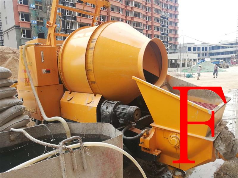 混凝土泵 青科重工 搅拌拖泵