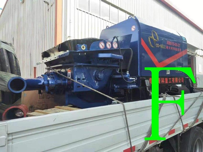 混凝土泵 青科重工 耐火材料输送泵