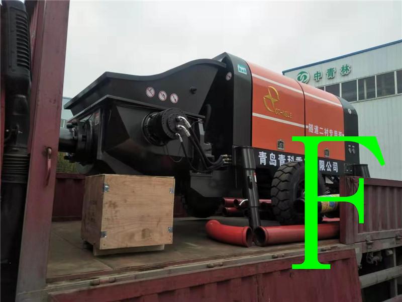 混凝土泵 青科重工 混凝土泵