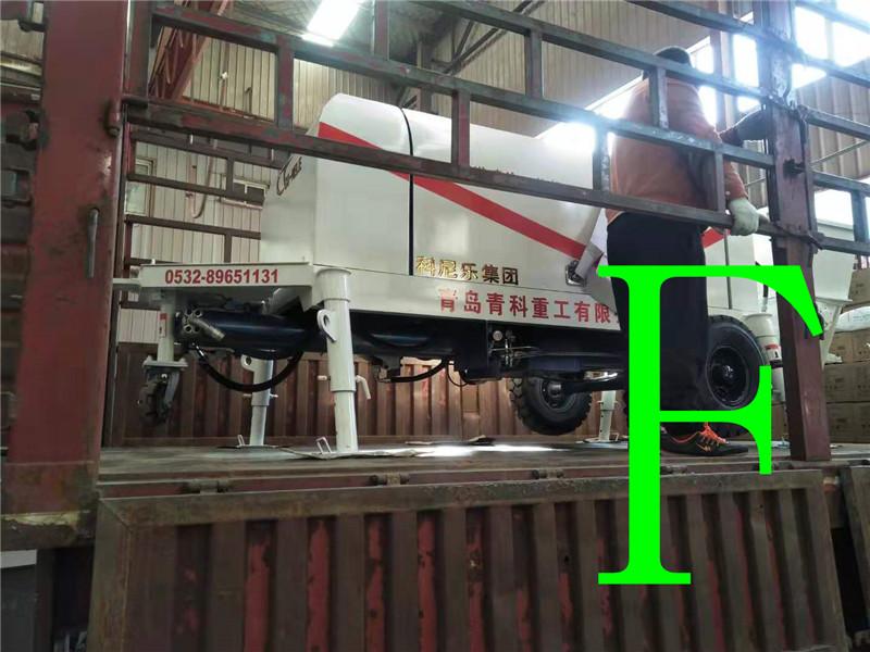混凝土泵 青科重工 输送喷涂一体机