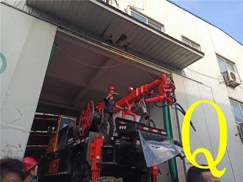 混凝土泵 青一号站登录平台重一号站登录平台 湿喷台车